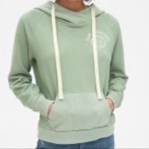 GAp hoodie San Francisco Bay Area-sage color